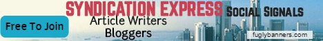 Syndication Express - Content Syndication for bloggers and article writers.