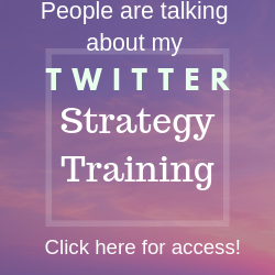 Twitter Marketing – People Are Talking about TP Twitter Strategy Training!